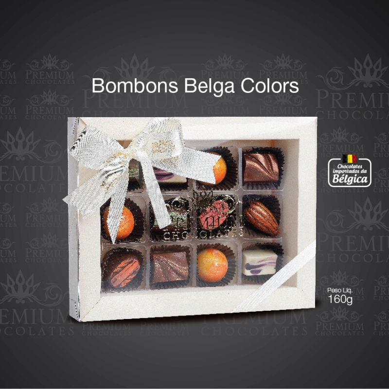 Bombom Belga Colors