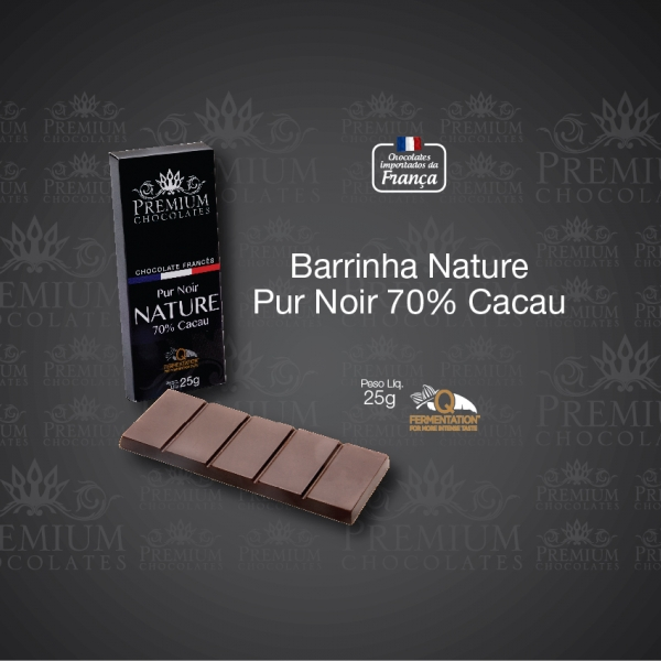 Barrinha Pure Noir 70% Cacau